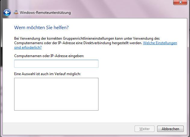 windows 7 / windows 10: remoteunterstützung anbieten – krefcom.eu, Einladung
