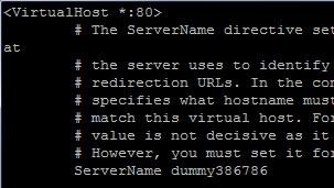 virtual host